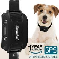 AngelaKerry Wireless Dog Fence System with GPS